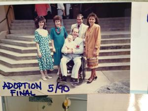 Adoption Finalized; 1990
