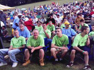 Graham at Teen Challenge, PA 2005